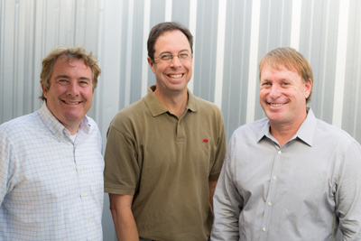 Woody Koppel, Mark Schreiner and Matt Rosendahl